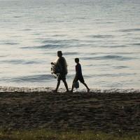 balinesischen Fischer