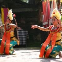 Traditionellen Tänzen