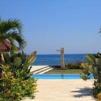 Ferienhaus in Bali mit Pool und Außendusche