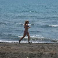 Genießen Sie am Strand