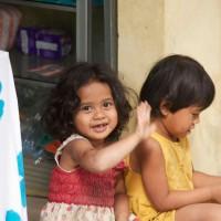 Kinder von Bali