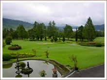 Golf spielen auf Bali