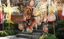 Traditionelle Maskentänzer