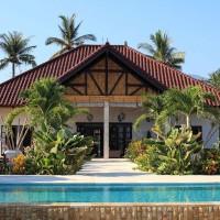 Frontansicht der Villa Bima Sena in Bali