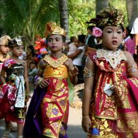 Balinesischen Tracht