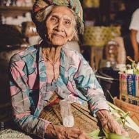 Balinesischen Frau