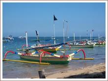 Angeln auf Bali Meer