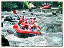 Spektakuläres Erlebnis auf dem Fluss