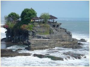 Tempel auf dem Meer