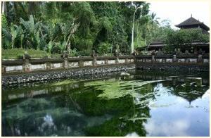 Palast von Klungkung Taman Gili auf Bali.